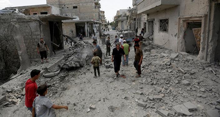 Sitiación en Siria