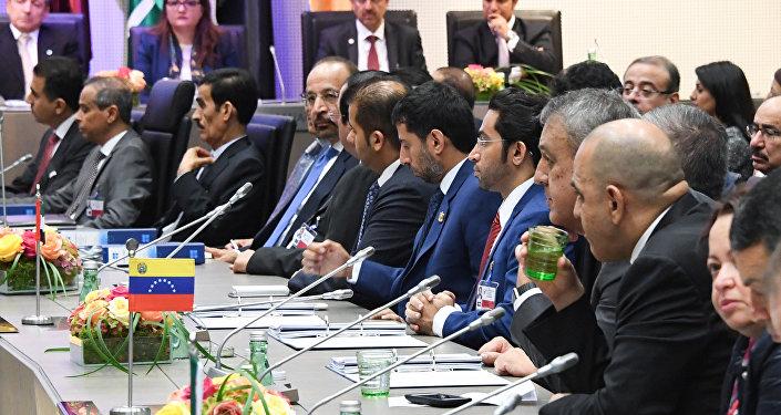 Ministros de petróleo de los países miembros de la OPEP