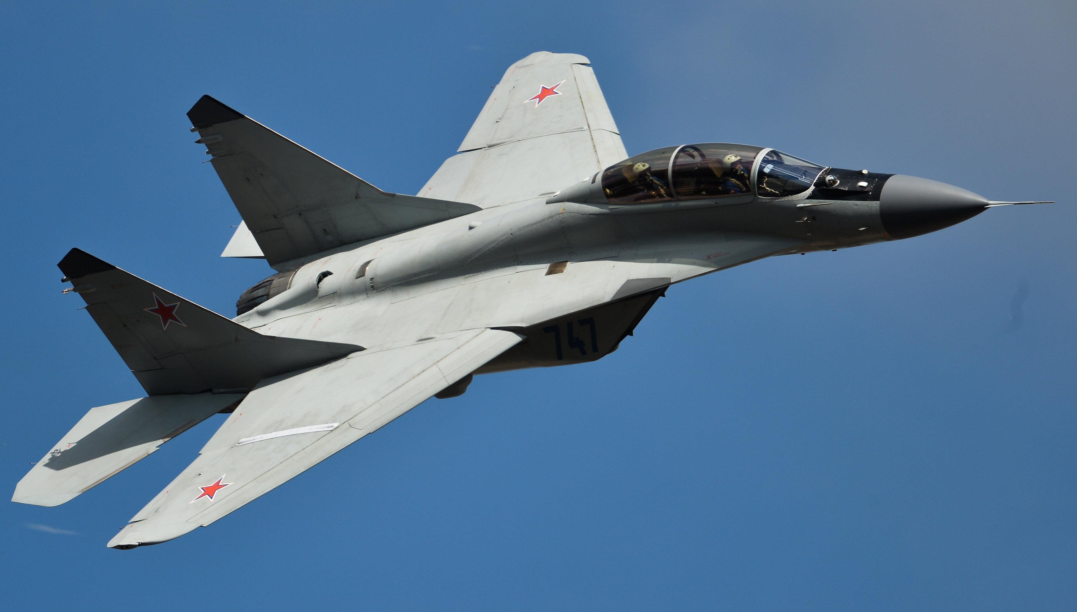 El caza MiG-35