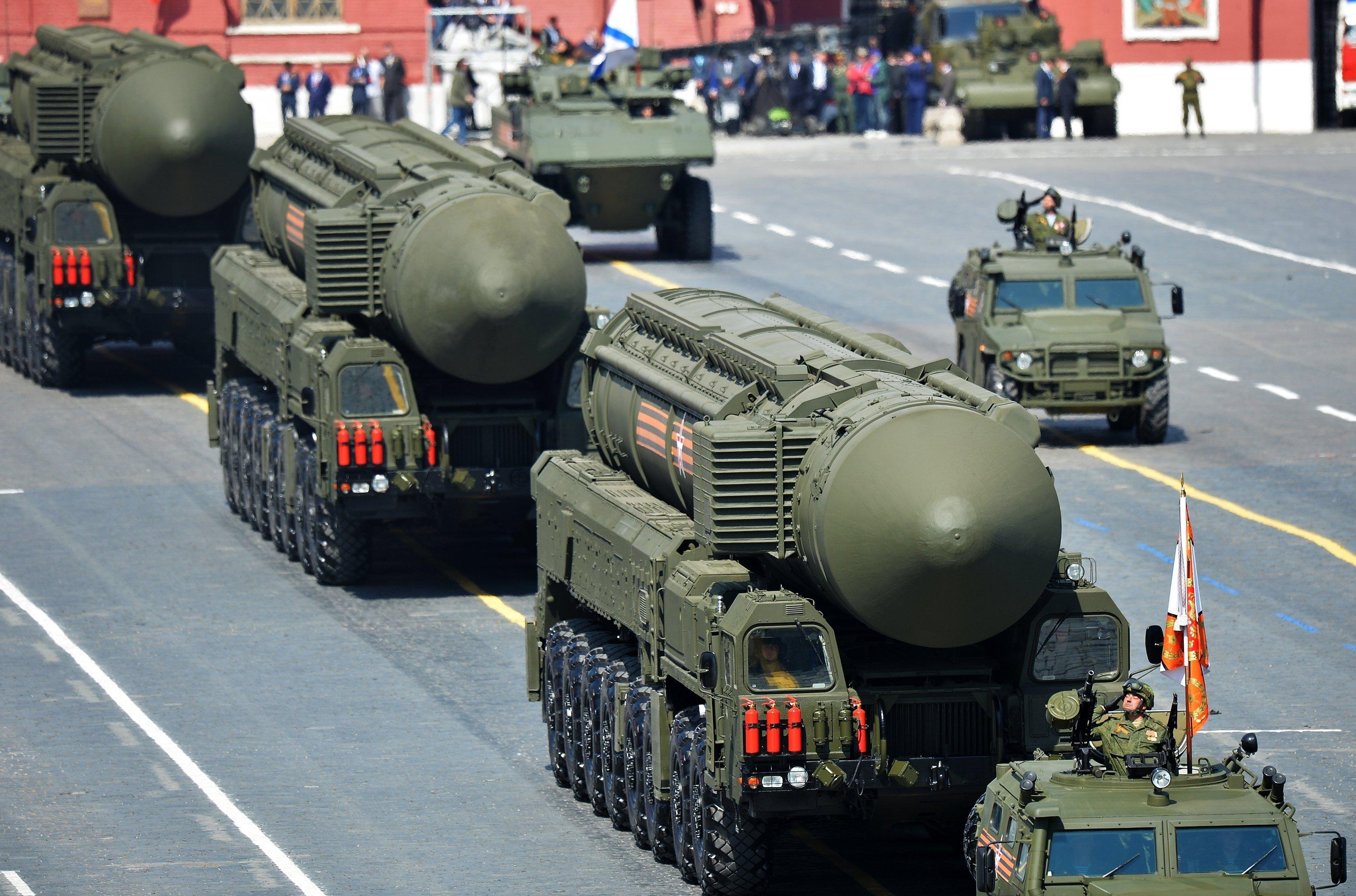 Resultado de imagen para armas exhibió Rusia en el desfile del Día de la Victoria