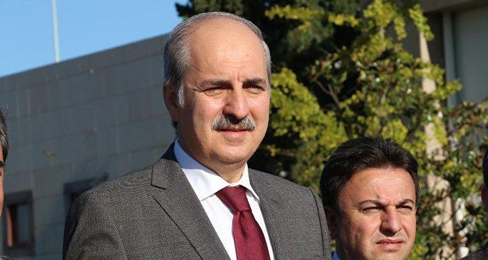 Numan Kurtulmus, el vice primer ministro turco