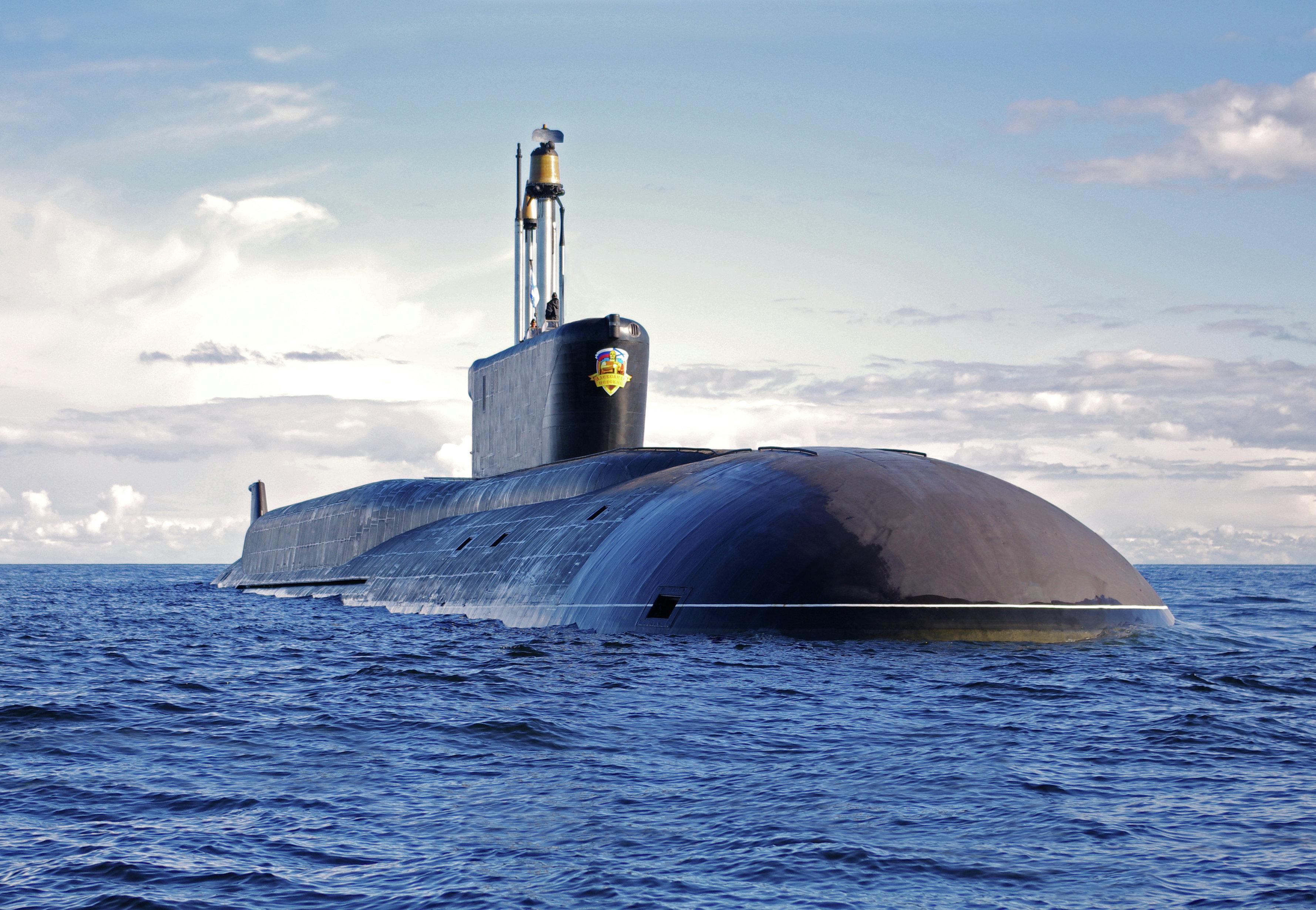 Submarino nuclear Alexandr Nevski de clase Borei