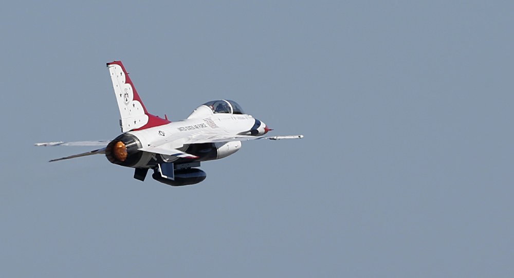 F-16 estadounidense (imagen referencial)