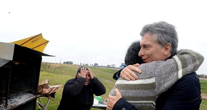 Visita de Mauricio Macri, presidente de Argentina, (archivo)