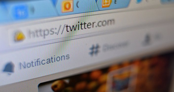La página de la red social Twitter en el navegador web