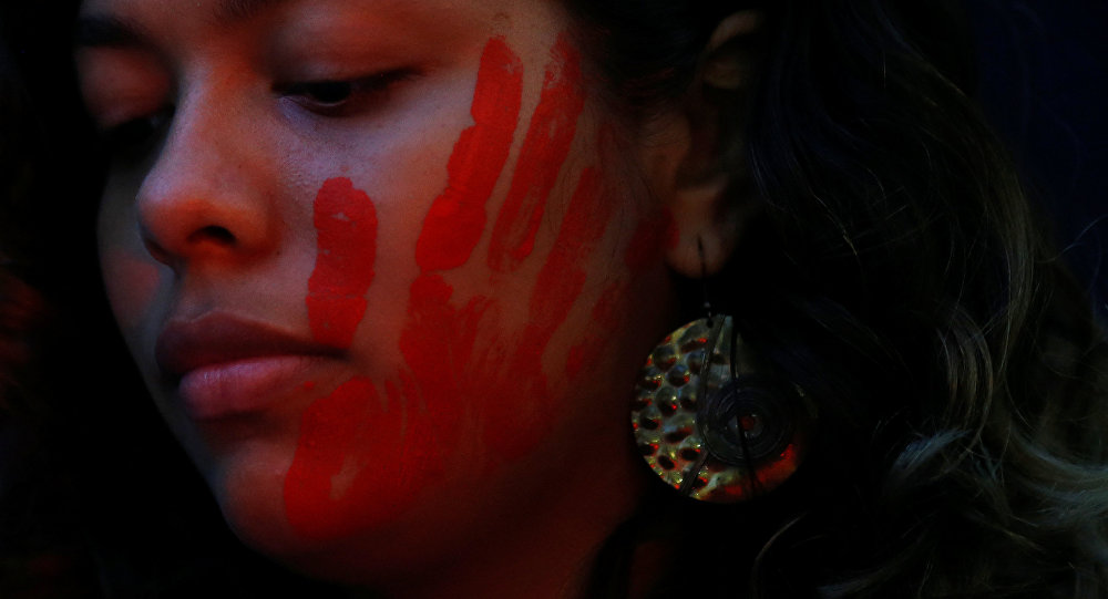 Marcha en contra de la violencia machista (archivo)