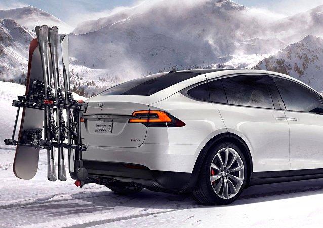 El coche eléctrico Tesla Model X