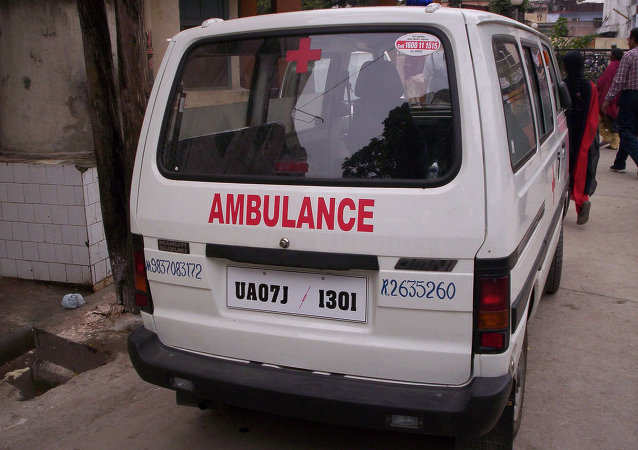 Ambulancia india (archivo)