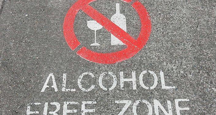 Alcohol prohibido