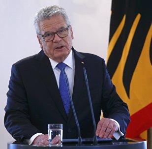 Joachim Gauck, presidente de Alemania