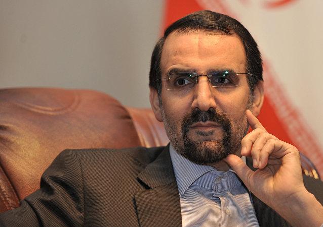 Mehdi Sanai, embajador de Irán en Rusia