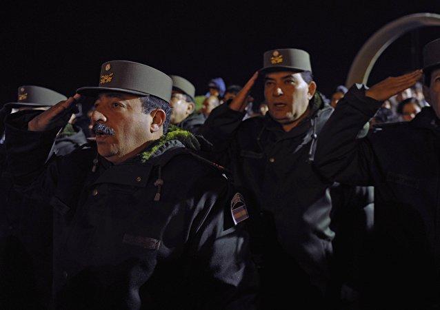 Militares argentinos
