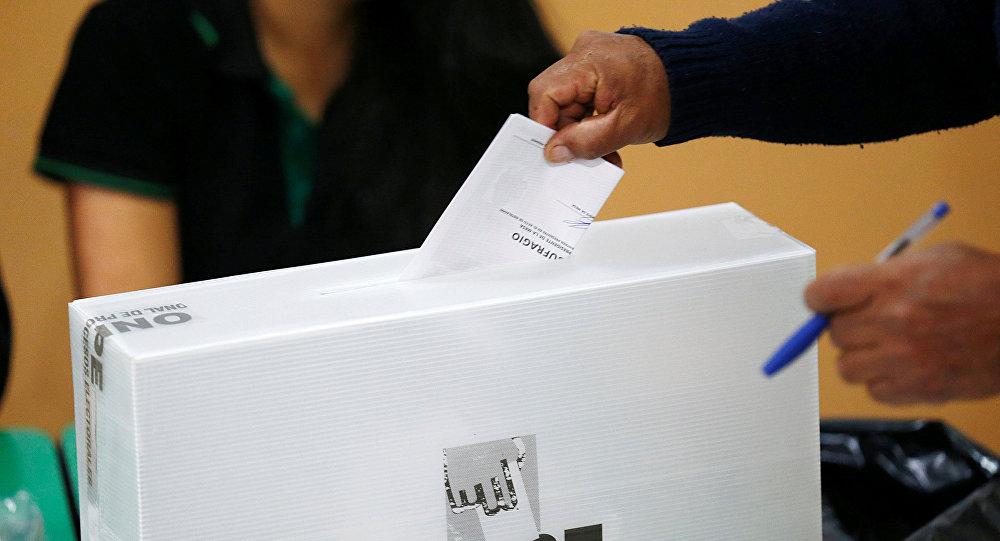 La votación en Perú (archivo)