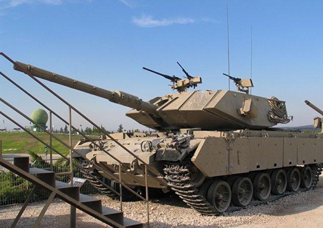 Un tanque Magach