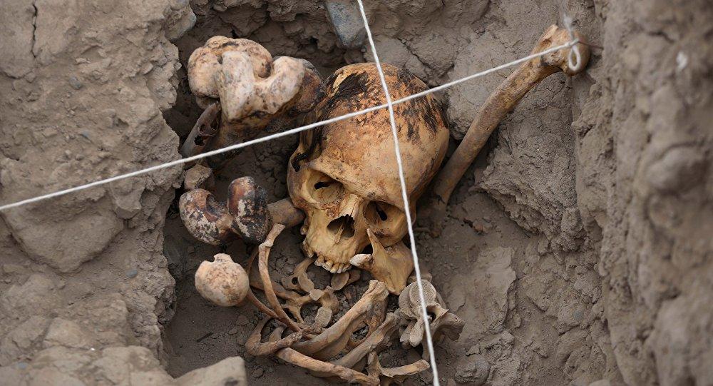 Restos humanos (imagen referencial)