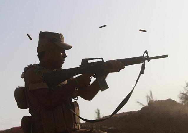 Militar iraquí (archivo)