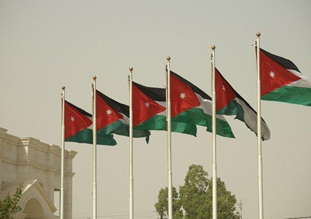 Bandera de Jordania (archivo)