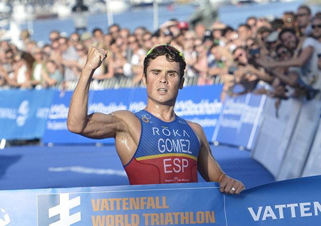 Francisco Javier Gómez Noya, triatleta español (archivo)