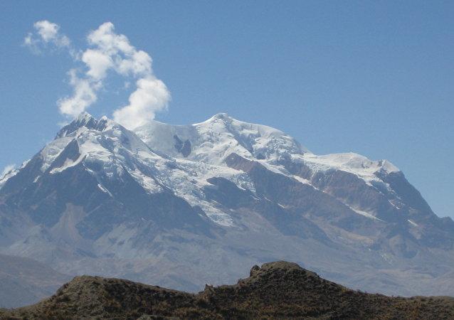 La montaña Illimani
