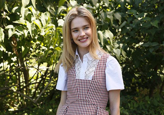 La supermodelo rusa Natalia Vodiánova