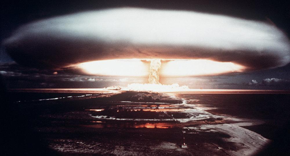La prueba nuclear del 1971 en el atolón de Mururoa (imagen referencial)
