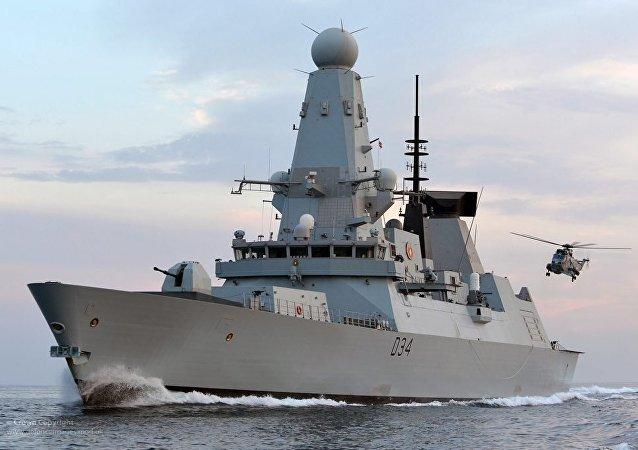 El buque de guerra de Tipo 45