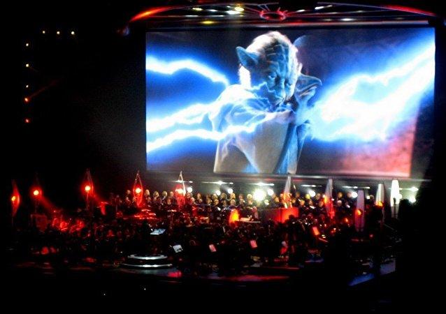 El protagonista de Star Wars en un concierto