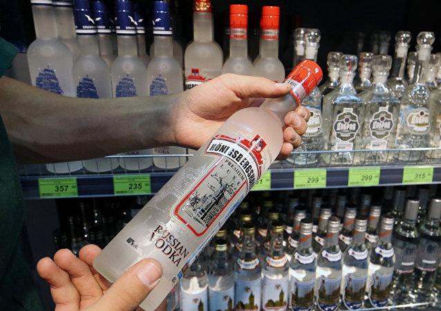 La vodka rusa