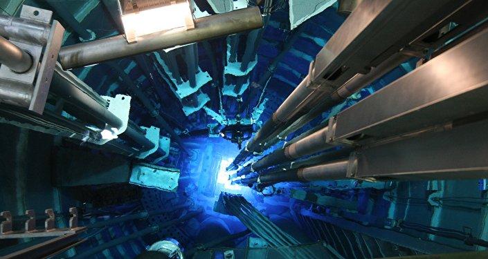 Un reactor nuclear