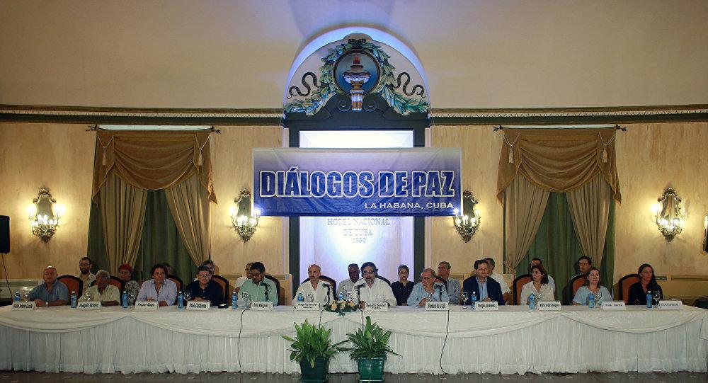 Negociaciones de paz del Gobierno de Colombia y de las FARC (archivo)