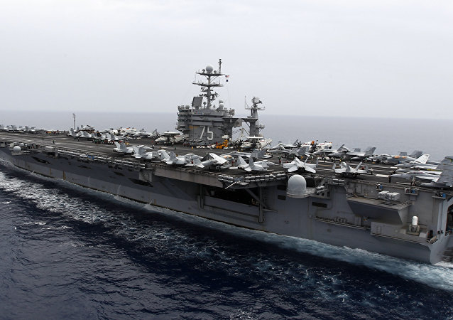El portaaviones estadounidense USS Harry S. Truman