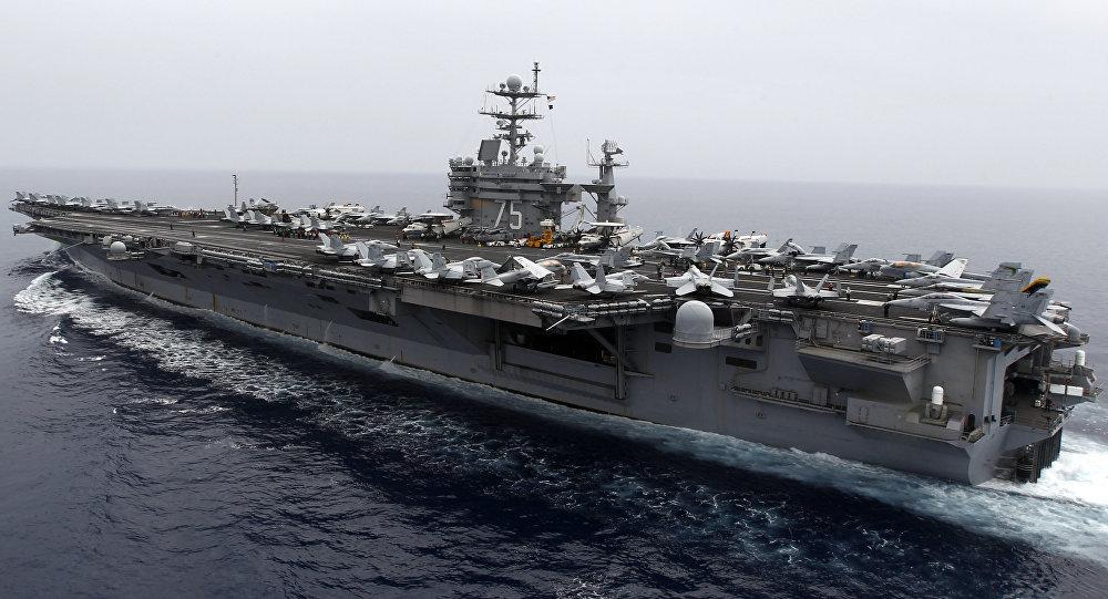 Portaaviones estadounidense USS Harry S. Truman