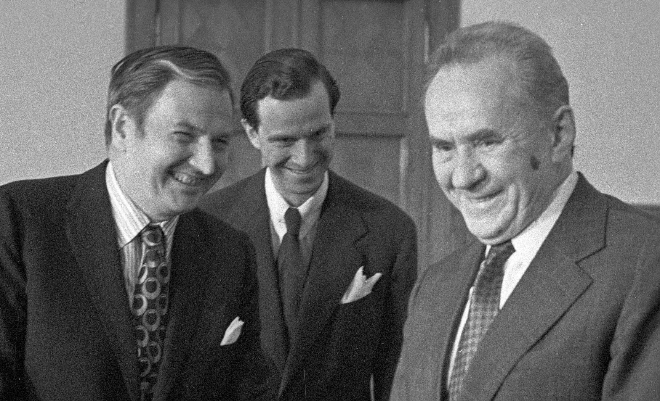 David Rockefeller y Alekséi Kosygin