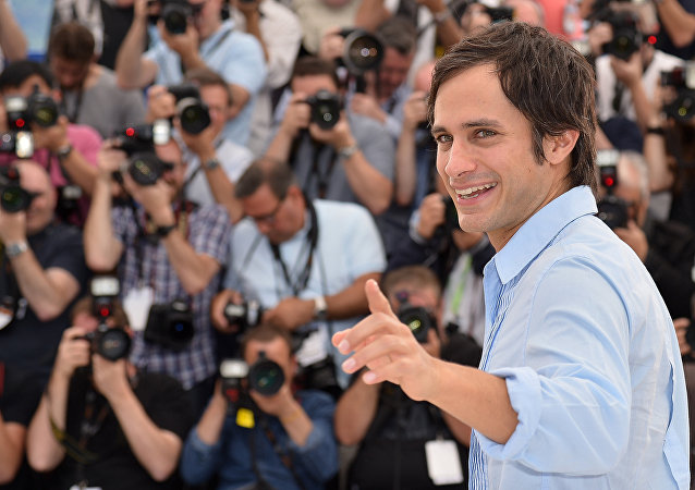 El actor y cineasta mexicano Gael García Bernal (archivo)