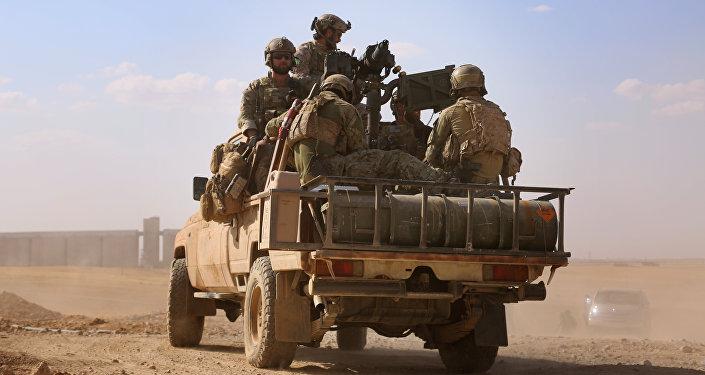 Militares estadounidenses en Siria (imagen referencial)