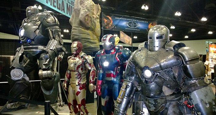Trajes de Iron Man de Hollywood