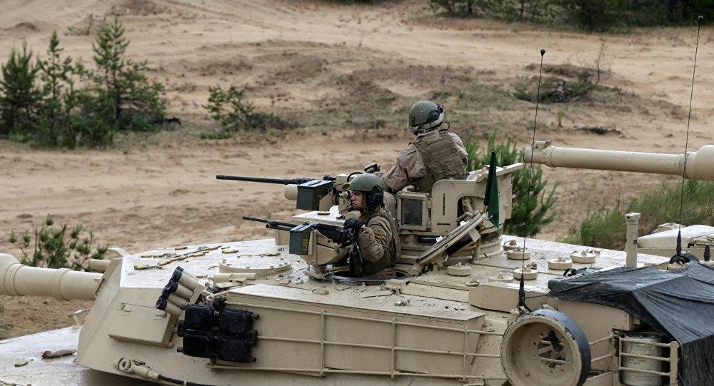 El tanque estadounidense Abrams