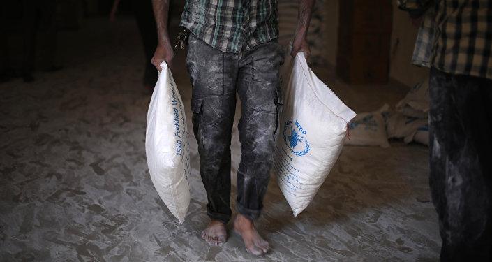 Ayuda humanitaria de la ONU para Siria