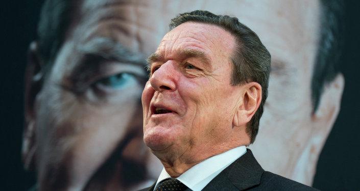 Gerhard Schröder, el excanciller de Alemania