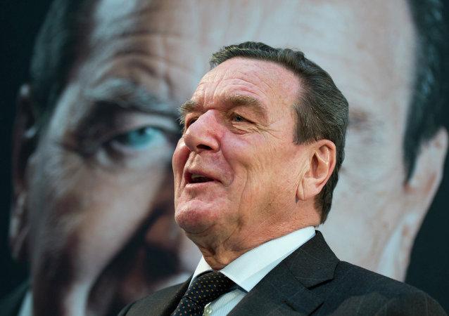 Gerhard Schröder, el excanciller alemán