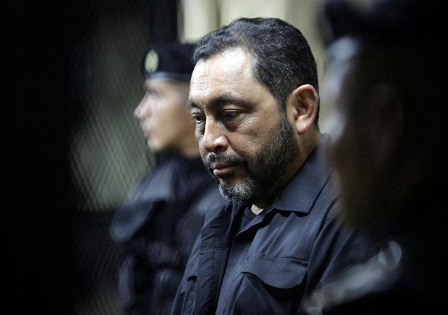 Mauricio López Bonilla, antiguo ministro de Gobernación guatemalteco
