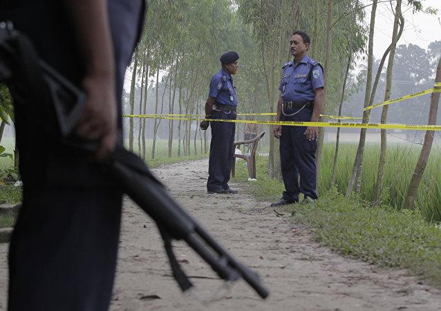 Fuerzas de seguridad de Bangladés (archivo)