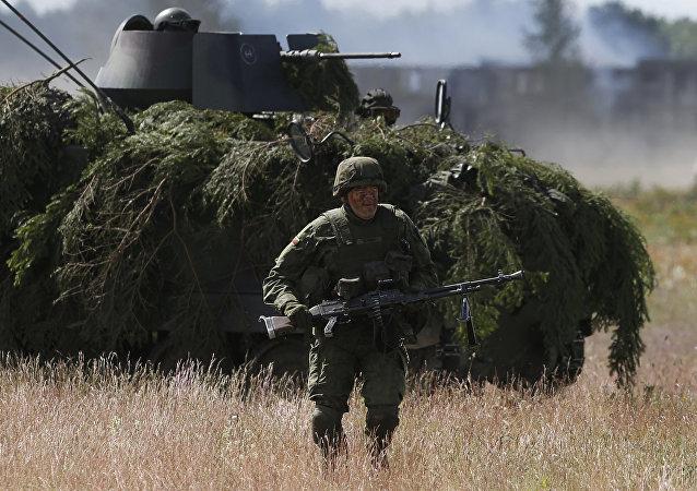 Maniobras militares Saber Strike (archivo)