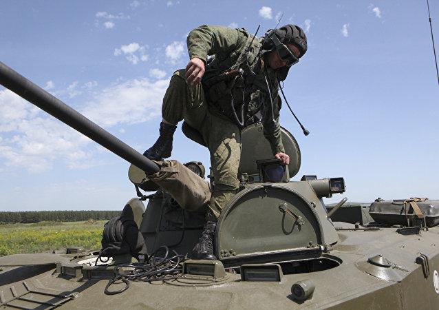 Inspección sorpresa de las Fuerzas Armadas de Rusia (archivo)