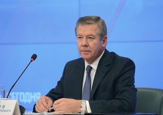 El vicecanciller ruso, Guennadi Gatílov