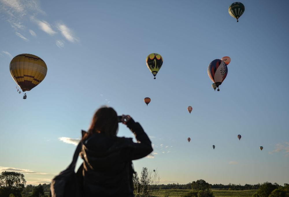 Competición de pilotos de globos aerostáticos