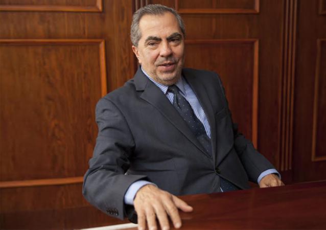 Galo Galarza, embajador del Ecuador en Uruguay