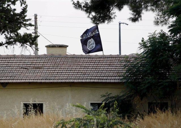 La bandera de Daesh
