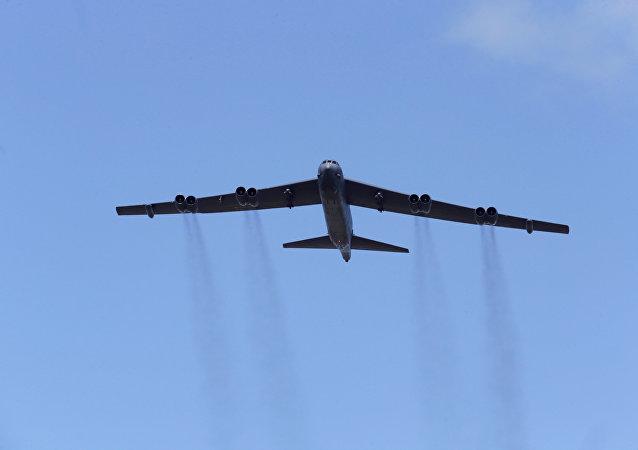 Bombardero estratégico B-52 norteamericano (archivo)