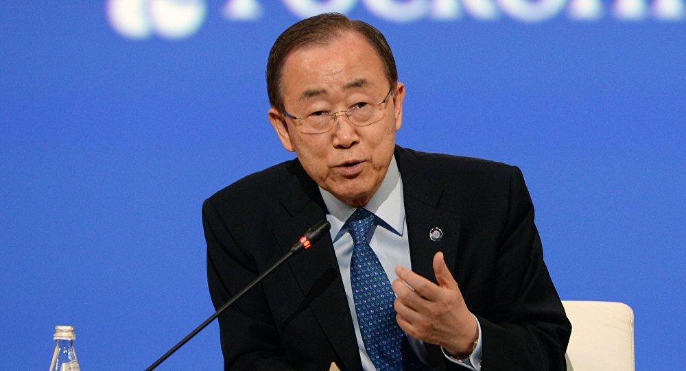 Ban Ki-moon, el secretario general de la ONU